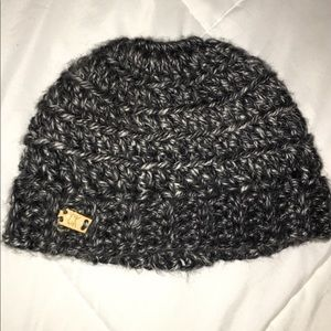 Calvin Klein beanie with pony tail hole